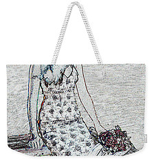 Thoughtful Weekender Tote Bag by Leticia Latocki