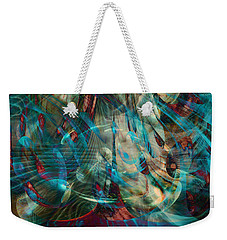 Thoughts In Motion Weekender Tote Bag