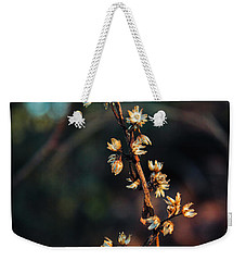 Weekender Tote Bag featuring the photograph Thread Of Hope by Jessica Brawley