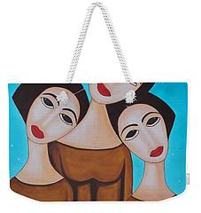 Three Angels Weekender Tote Bag