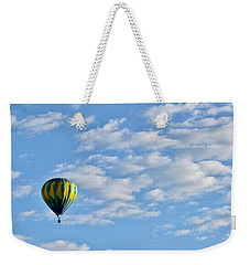 Three Beautiful Balloons In Cortez Weekender Tote Bag by Janice Rae Pariza