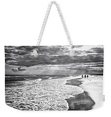 Weekender Tote Bag featuring the photograph Three by Ben Shields