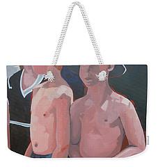 Three Boys Weekender Tote Bag