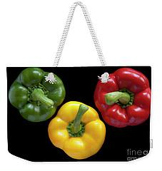 Three Colors Weekender Tote Bag
