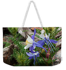 Three Columbine Weekender Tote Bag
