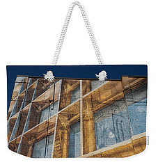 Three Dimensional Optical Illusions - Trompe L'oeil On A Brick Wall Weekender Tote Bag