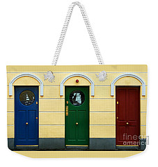 Three Doors Weekender Tote Bag