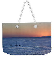 Weekender Tote Bag featuring the photograph Three Dreams by Steven Sparks