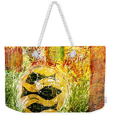 Three Fishes Weekender Tote Bag