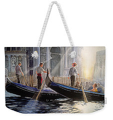 Three Gondoliers Weekender Tote Bag
