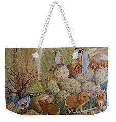 Three Little Javelinas Weekender Tote Bag