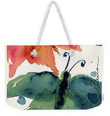 Three Moths II Weekender Tote Bag by Dawn Derman
