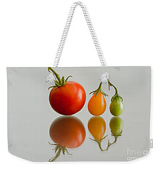 Three Of The Kinds Weekender Tote Bag by Jonathan Nguyen