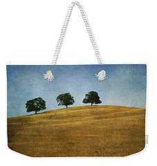 Three On A Hill Weekender Tote Bag