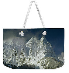 1m4503-three Peaks Of Mt. Index Weekender Tote Bag