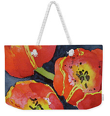 Three Sisters Weekender Tote Bag by Beverley Harper Tinsley