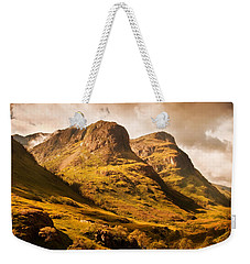 Three Sisters. Glencoe. Scotland Weekender Tote Bag