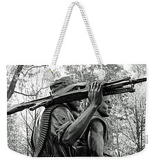 Three Soldiers In Vietnam Weekender Tote Bag