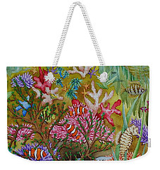 Thriving Ocean -sunken Ship Weekender Tote Bag