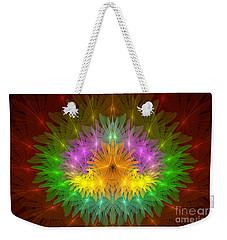 Throne Of The Queen Of Flowers Weekender Tote Bag