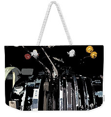 Throttles Weekender Tote Bag by Julio Lopez