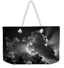 Weekender Tote Bag featuring the photograph Through And Through by Ben Shields