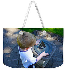 Through The Eyes Of A Child Weekender Tote Bag
