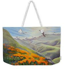 Through The Eyes Of The Condor Weekender Tote Bag
