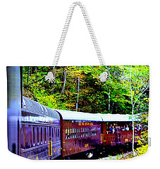 Through The Mountains Weekender Tote Bag
