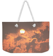 Through The Smoke Weekender Tote Bag by Melanie Lankford Photography