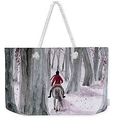 Through The Woods Weekender Tote Bag