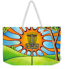 Throw Into The Light Weekender Tote Bag