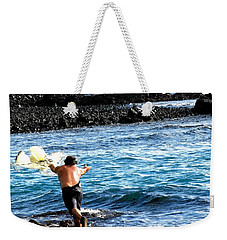 Throw.... Weekender Tote Bag