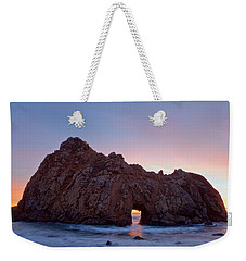 Thru The Gate Weekender Tote Bag