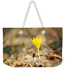 Thumbelina And The Crocus Weekender Tote Bag
