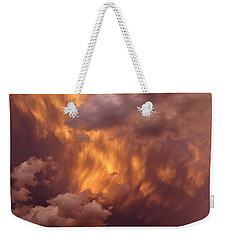 Thunder Clouds Weekender Tote Bag