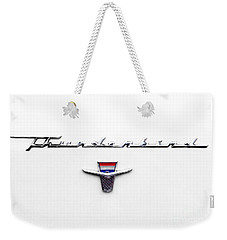 Thunderbird Tag Weekender Tote Bag by Jerry Fornarotto