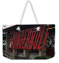 Thunderbolt Roller Coaster Weekender Tote Bag