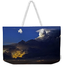 Weekender Tote Bag featuring the photograph Thunderstorm II by Greg Reed