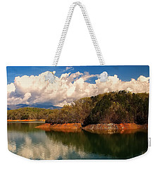 Thunderstorm Rolling Over The Smokies Weekender Tote Bag