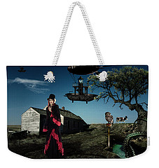 Thursday Weekender Tote Bag by Galen Valle