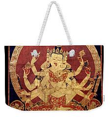 Tibetan Art Weekender Tote Bag