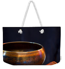 Tibetan Singing Bowl Weekender Tote Bag