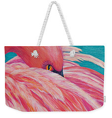 Tickled Pink Weekender Tote Bag