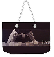 Tickling The Ivory Too Weekender Tote Bag