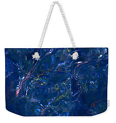 Tidal Drift Weekender Tote Bag by Jocelyn Kahawai