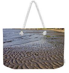 Tidal Pattern In The Sand Weekender Tote Bag by Jeff Goulden
