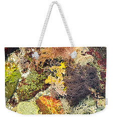 Tidal Pool Color Weekender Tote Bag