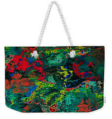 Weekender Tote Bag featuring the painting Tide Pool by Jacqueline McReynolds