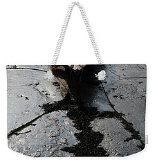 Weekender Tote Bag featuring the photograph Tide's Out 1 by Wendy Wilton